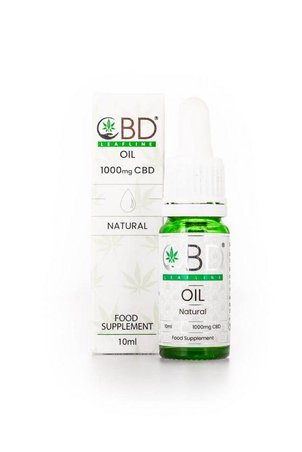 1000mg CBD oil - Natural