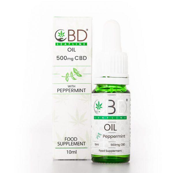 500mg CBD Oil - peppermint flavour
