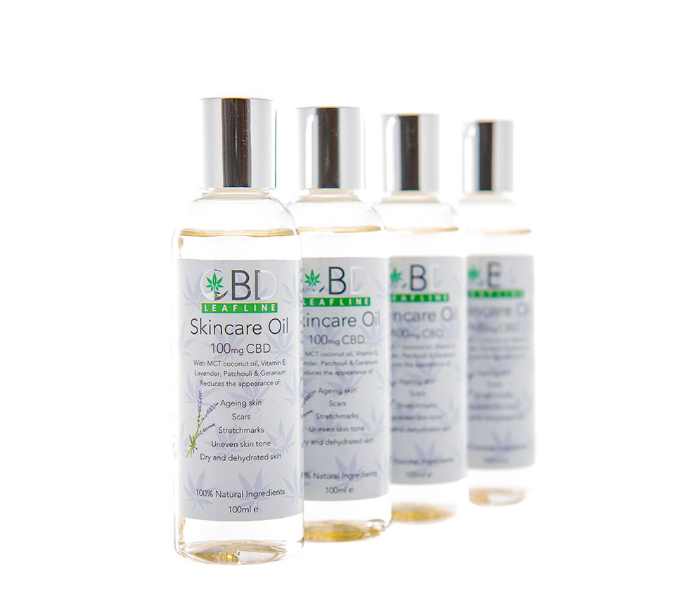 100mg CBD Skincare Oil